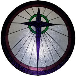 Stained Glass Window Logo Image